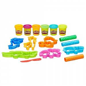 Play-Doh Веселое Сафари + пластилин 6шт. 336гр.