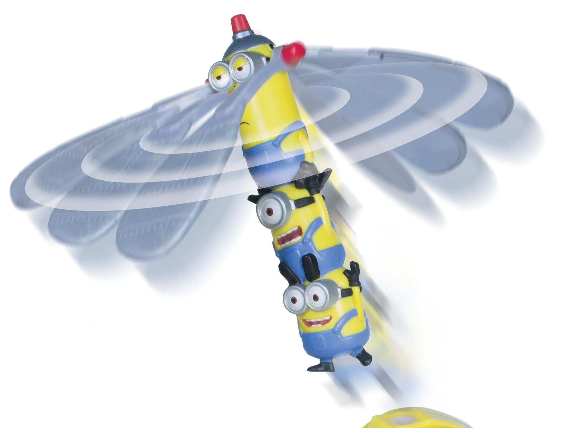 АКЦИЯ19 Игр набор Minions Летающий герой мини в наборе с запускающим устрой