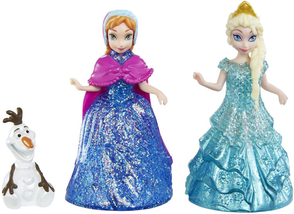 набор Куклы Анна и Эльза, в наборе с Олафом, 26*6*16,5см.