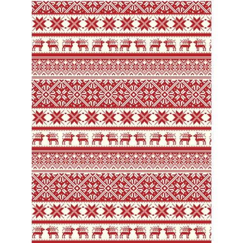 Бумага для декупажа 28*30 25гр/м2 рисовая Cadence Рождество-245