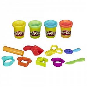 Творч Play-Doh Базовый + пластилин 4шт. 224г