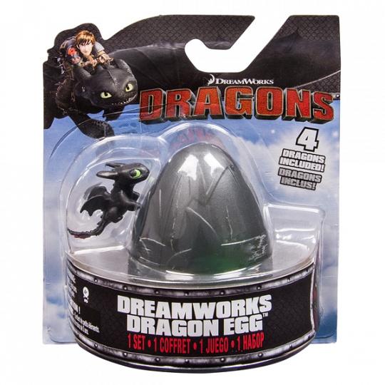Dragons Драконы в пластм. яйце
