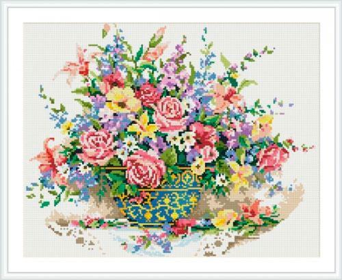 Картины мозаикой 40х50 Весенний аромат