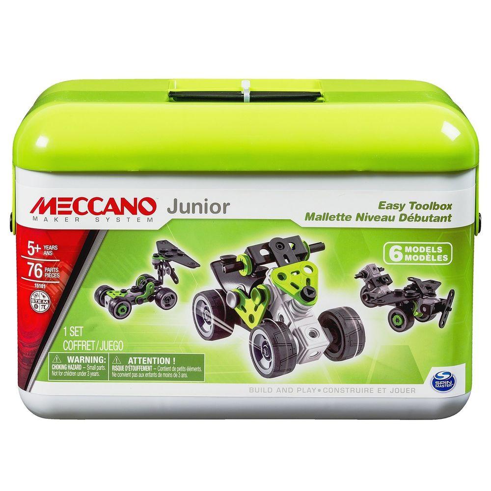 Конструктор Квадроцикл (6 модел.) 76 дет. пласт. в чемодане