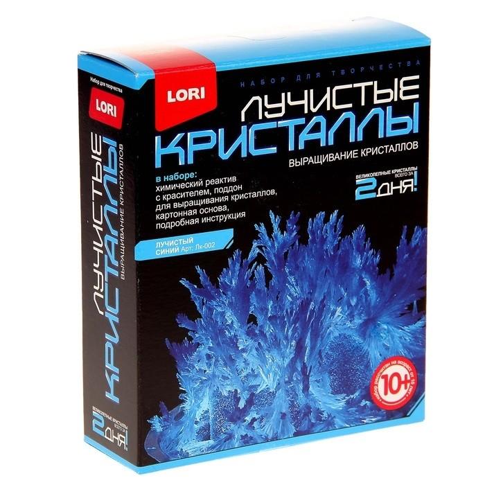 Набор для экспериментов Лучистые кристаллы Синий кристалл