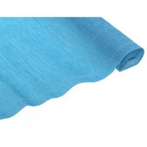 Бумага гофрированная 50*250 голубой