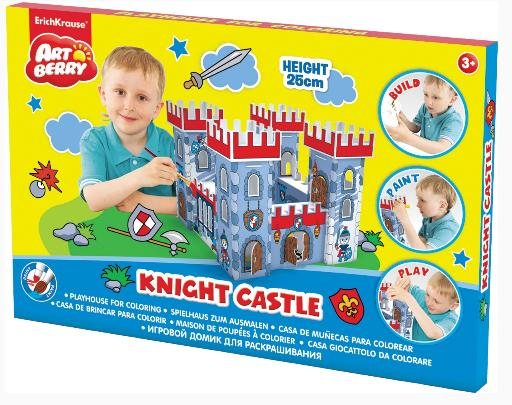 Творч Набор Игровой домик для раскрашивания Knight Castle