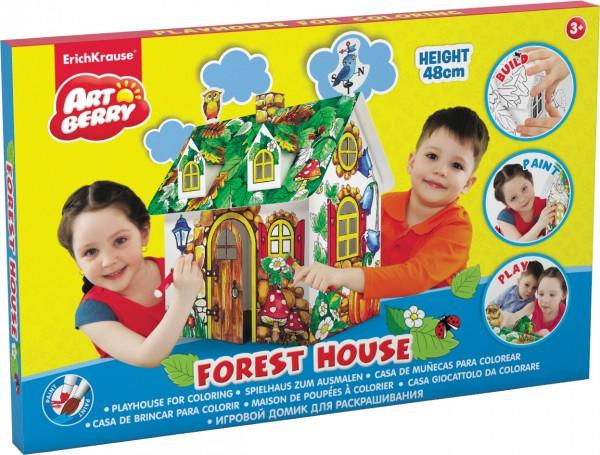 Набор Игровой домик для раскрашивания Forest House