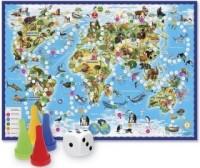 Игра Настольная Ходилка Животный мир земли