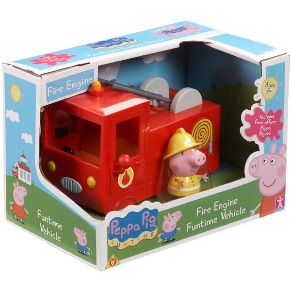 АКЦИЯ-20 Игр набор Peppa Pig Пожарная машина пласт.
