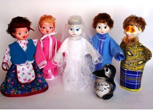 Кукольный театр Снежная королева