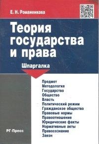 Теория государства и права. Шпаргалка: Учеб. пособие
