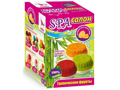 Набор Бомбочки-Шипучки Тропические фрукты