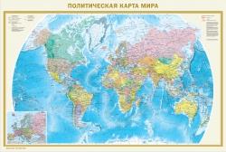 Карта Политическая карта мира. Федеративное устройство России