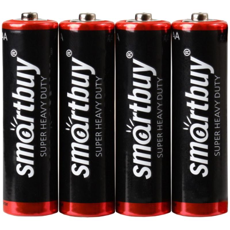 Батарейка SmartBuy R06 SB4 AA 1,5V(пальч)