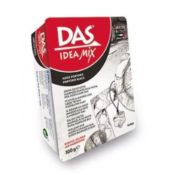 Паста для моделирования 100гр Das Idea Mix portoro black имитация нат