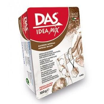 Паста для моделирования 100гр Das Idea Mix imperial brown имитация на