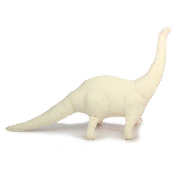 Заготовка для декора Игрушка Динозавр большой 52х18 текстиль