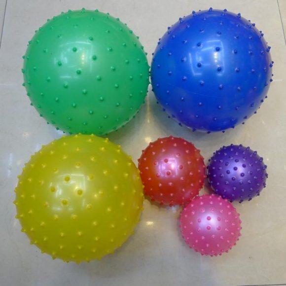 Мяч массажный 10 см. в ассортим.