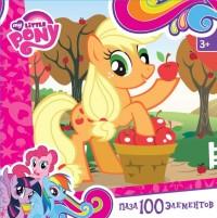 Пазл 100 Оrigami 02098 My Little Pony. Эпплджек