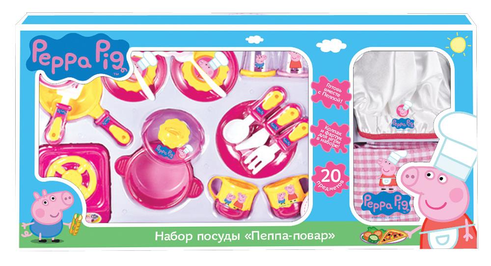"Набор посуды ""Пеппа-повар"" 20 пр."
