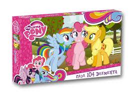 Пазл 104 Оrigami 02091 My Little Pony. Три друга