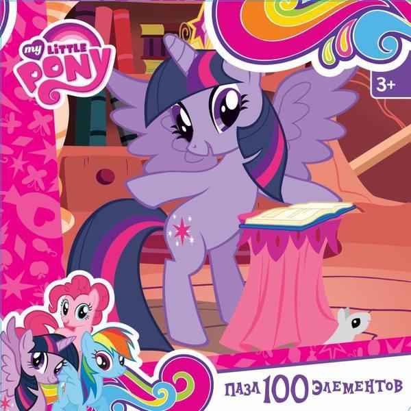 Пазл 100 Оrigami 02094 My Little Pony. Сумеречная Искорка
