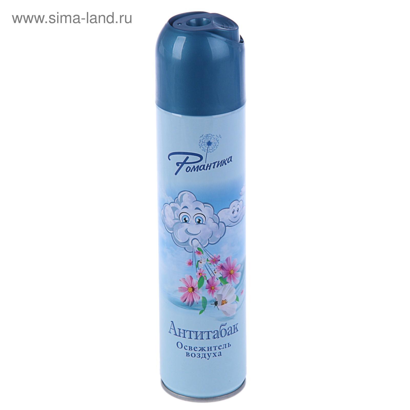 Быт Освежитель воздуха Романтика 300мл  Антитабак 89-0221