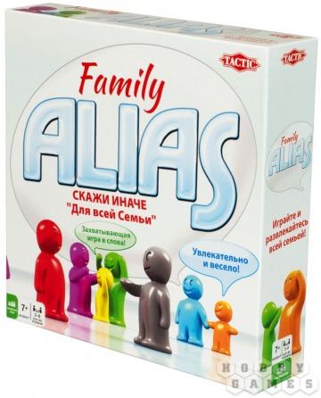 Игра Настольная Alias Скажи иначе: Для всей семьи 2