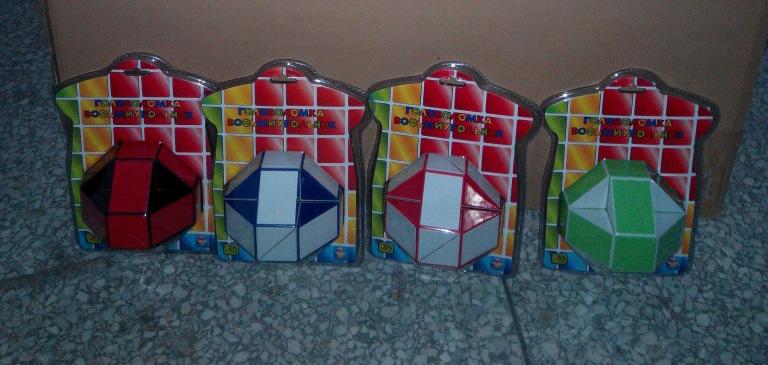 Головоломка Восьмиугольник 3D пласт
