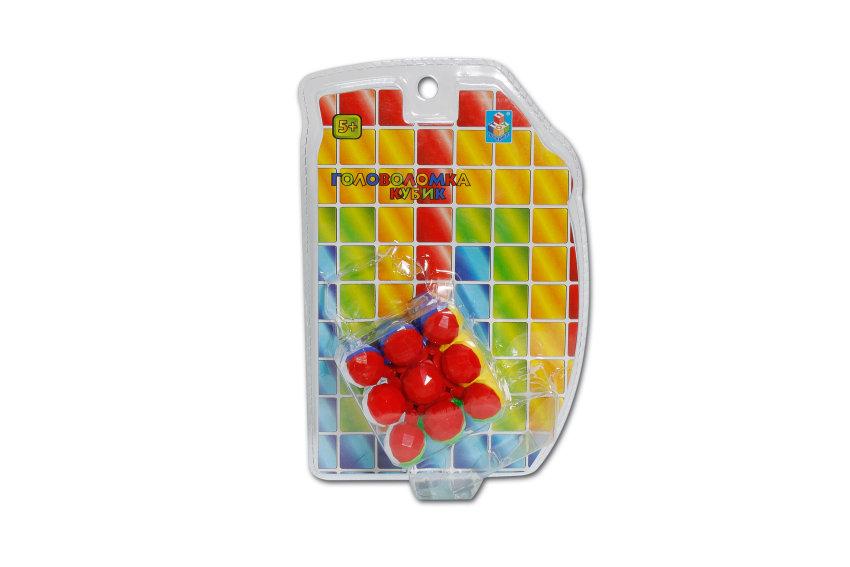 Головоломка куб 3*3 Шары, 6см.