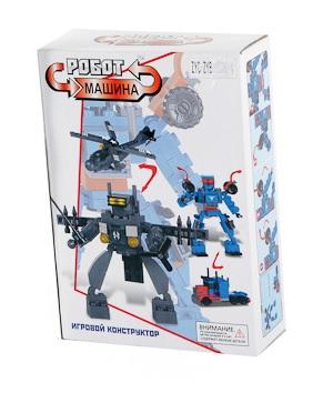 Конструктор Робот-машина 110 дет