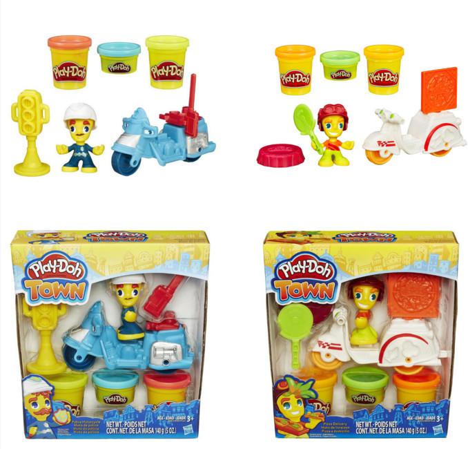 Творч Play-Doh Транспортные средства в ассорт. + пластилин