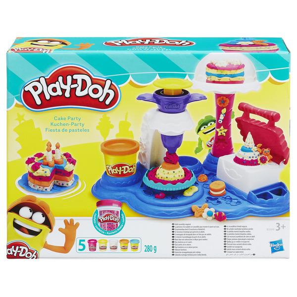 Play-Doh Сладкая вечеринка + пластилин 5шт. 280гр.