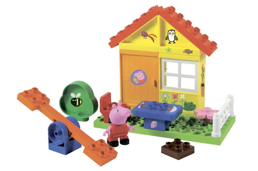 Конструктор Летний домик Peppa Pig 19 дет.