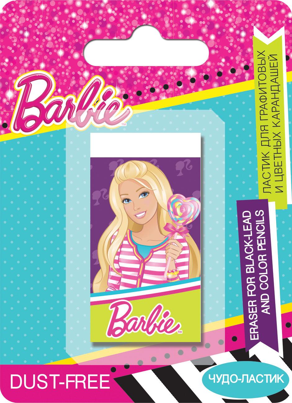 Ластик Barbie для графитовых и цветных карандашей