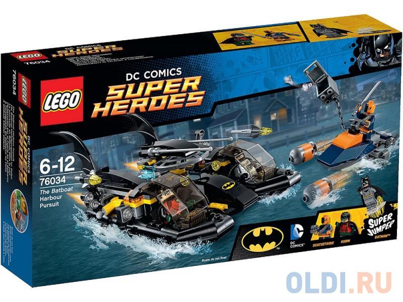 Конструктор Lego Super Heroes Погоня в бухте на Бэткатере