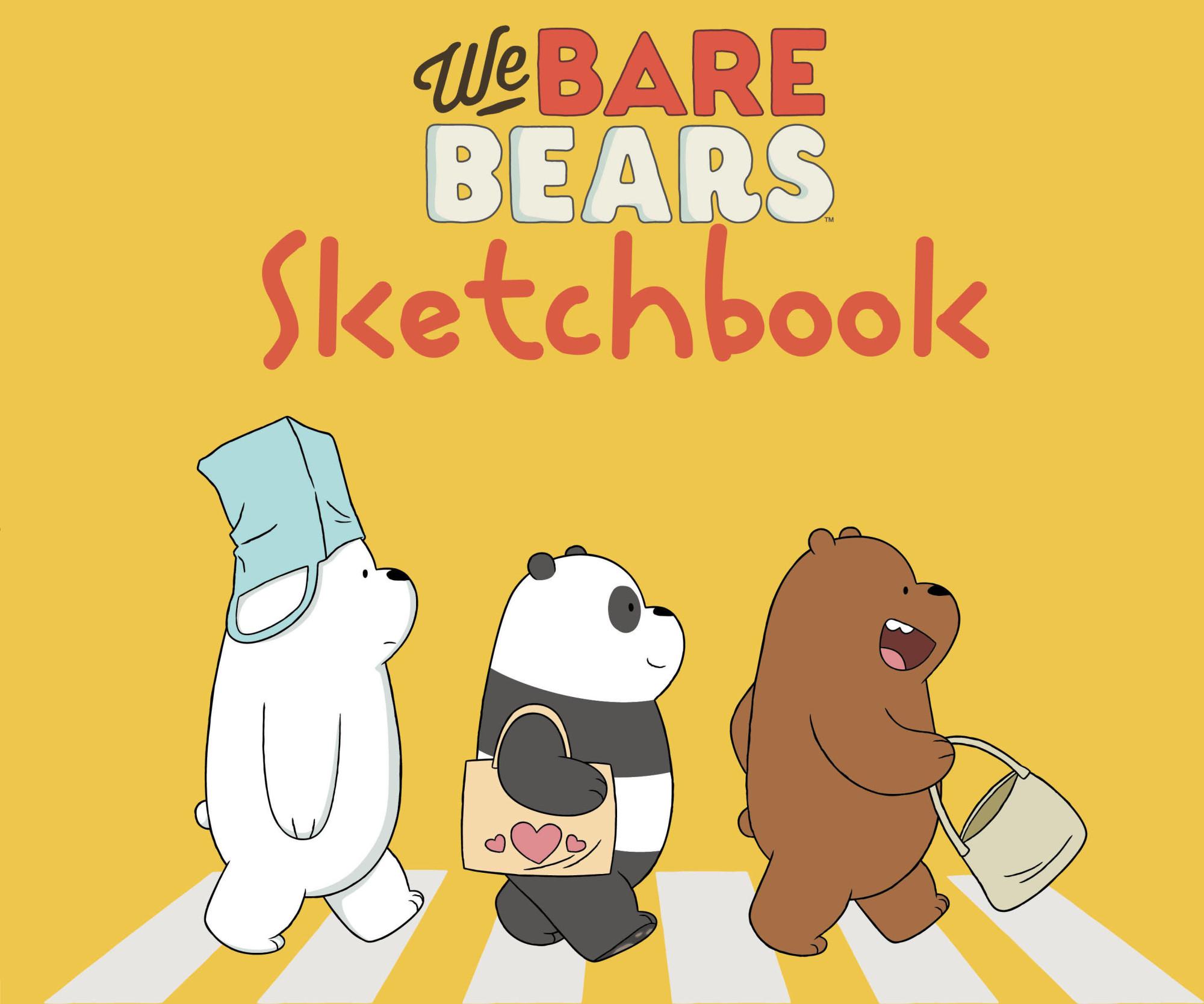 Скетчбук 240*200мм 48л We bare bears