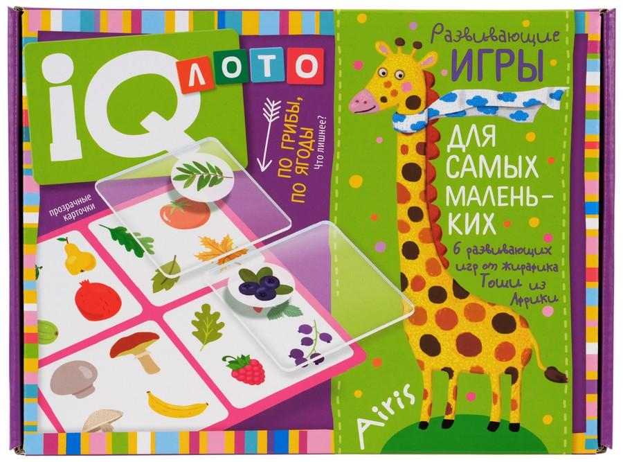 Игра Лото По грибы, по ягоды. Что лишнее? Пластиковое лото для малышей