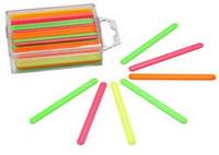 Счетные палочки 60шт цветные пласт. уп.