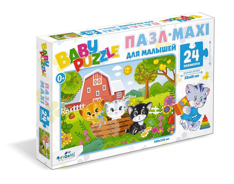 Пазл 24 Origami 05777 Три котенка