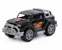 Автомобиль Легионер-мини черный пласт 21см