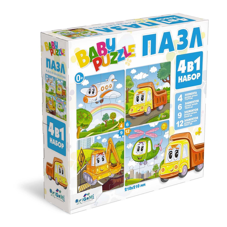 Пазл 4-6-9-12 Origami 05779 Техника