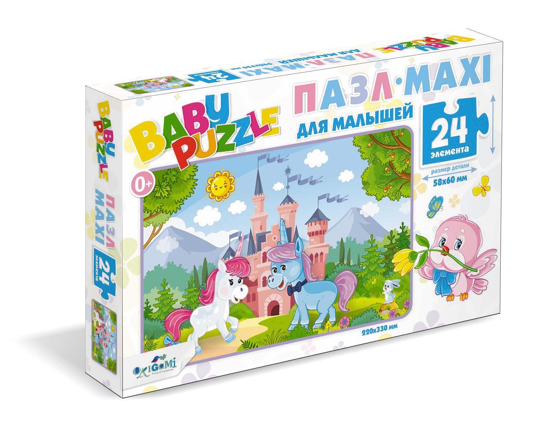 Пазл 24 Origami 05776 Волшебный замок