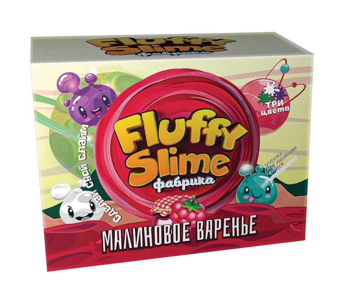 Набор Создай Флаффи Слайм Fluffy Slime Малиновое варенье
