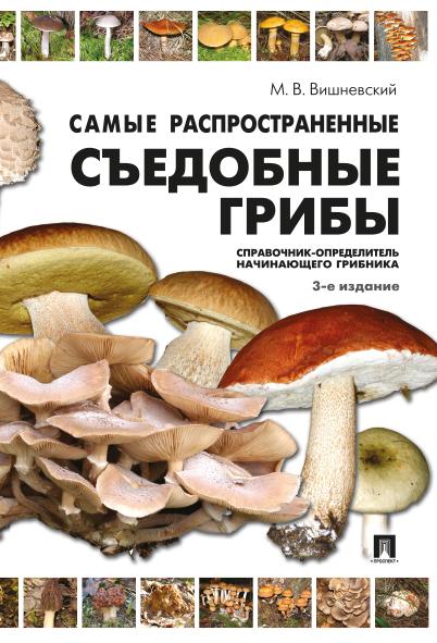 Самые распространенные съедобные грибы. Справочник-определитель начинающего