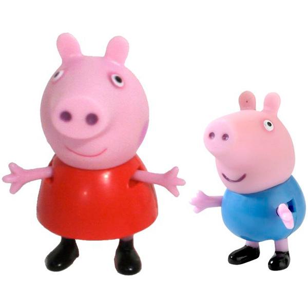 АКЦИЯ19 Игр Набор Peppa Pig Пеппа и Джордж