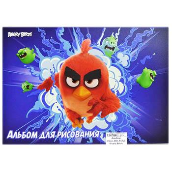 Альбом д/рис 40л Angry Birds склейка