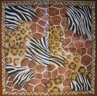 Салфетки д/декупажа 1лист Africa Nature