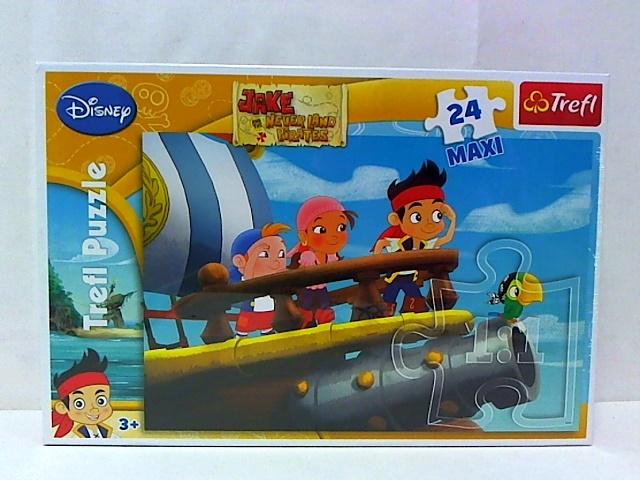 АКЦИЯ19 Пазл 24 Trefl Maxi 14200 Джейк и Пираты Нетландии